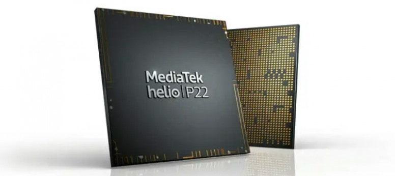 پردازنده Hellio P22 بکار رفته در گوشی Y5 2019