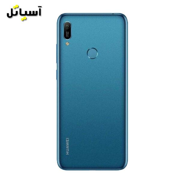 تصویر نمای پشت گوشی موبایل هواوی y6 prime 2019 آبی