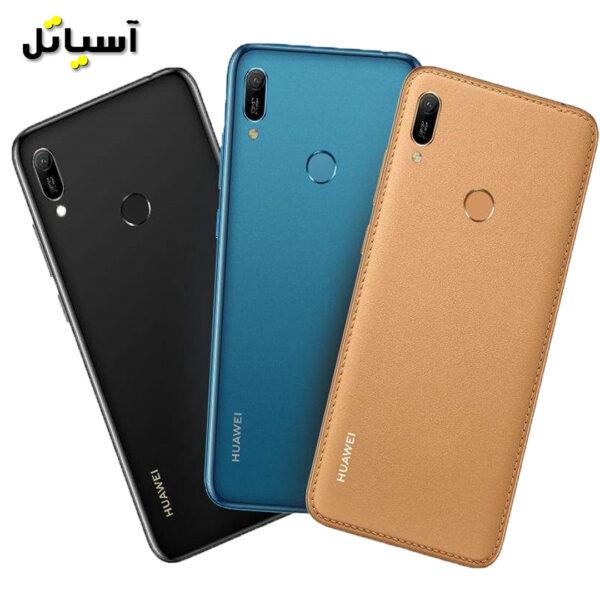 تصویر پشت گوشی موبایل هواوی y6 prime 2019 تمامی رنگ ها