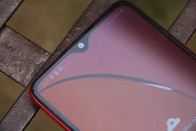 تصویر صفحه نمایش و ناچ در گلکسی A20s