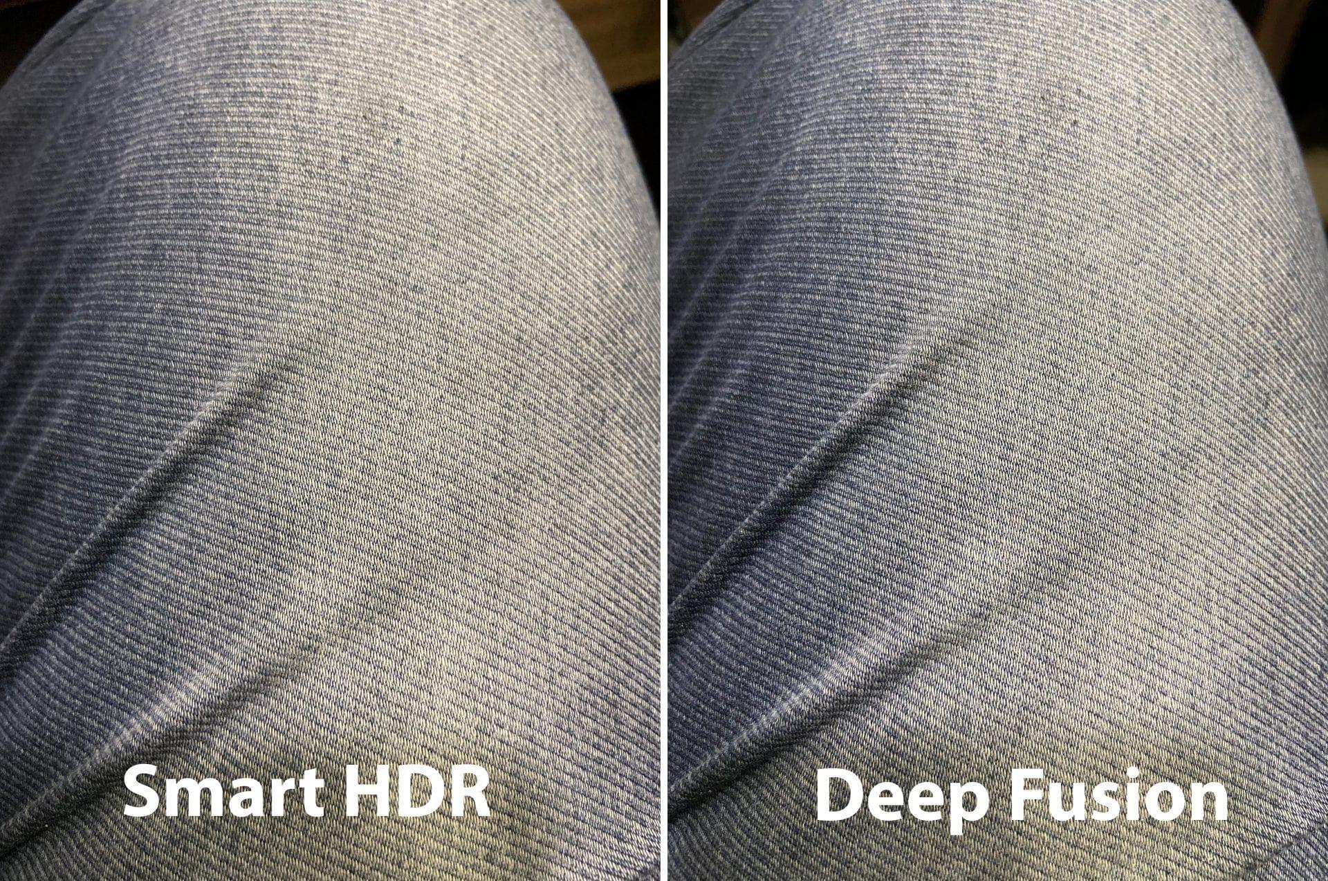 حالت دیپ فیوژن و smart HDR