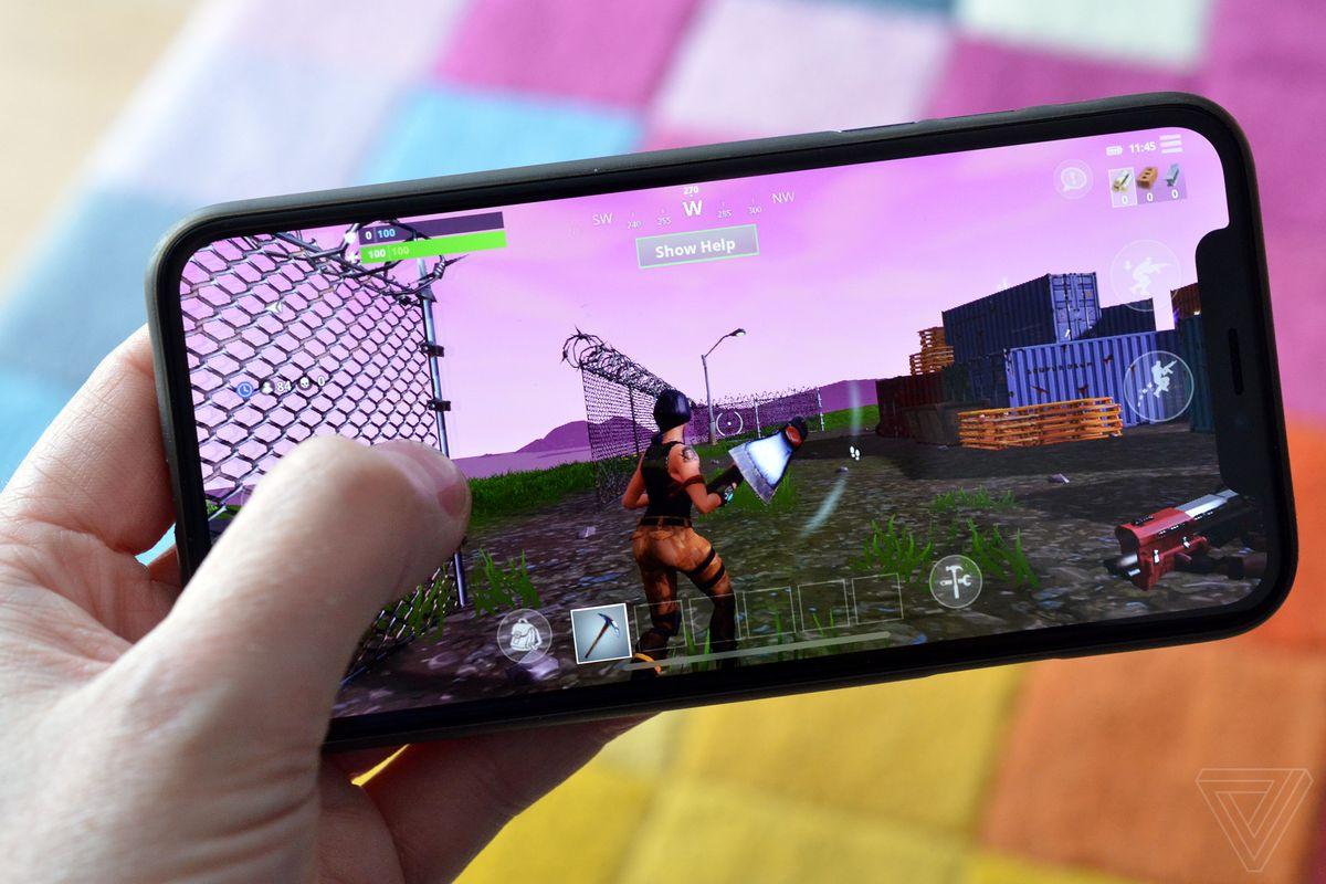 تصویر اجرای بازی فورتنایت
