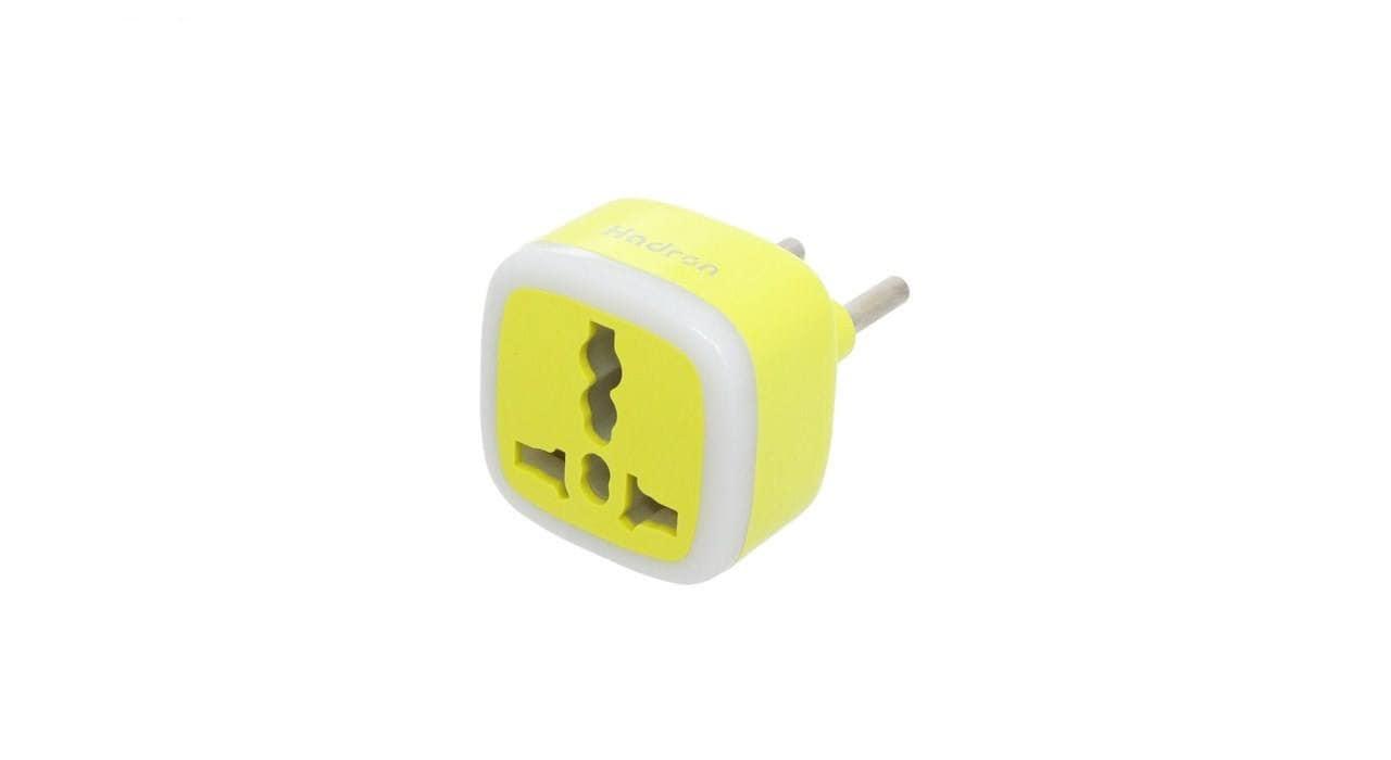 محافظ و مبدل برق هادرون مدل A10 زرد
