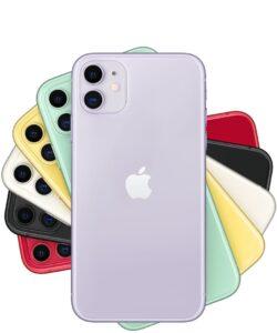 تمامی رنگ های آیفون 11