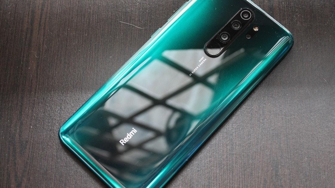 طراحی موبایل redmi note 8 pro سبز