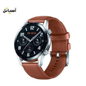 ساعت هوآوی GT 2 سایز 46 میلی متر قهوه ای